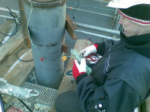 Preparation for PWHT of welding joints