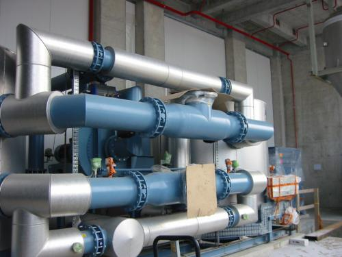 ORION GLOBAL PET piping erection